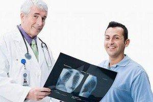 определение причины боли в легких врачом
