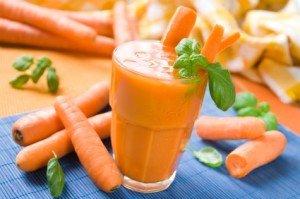 морковный сок при кашле