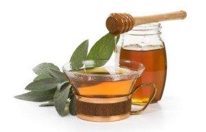 чай с медом в течение дня