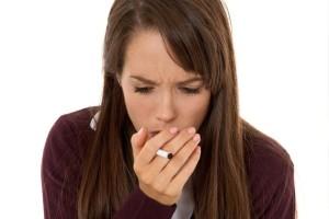 причина кашля по утрам - курение