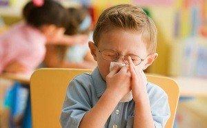 ребенок и кашель в детском саду