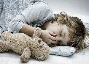 кашель у ребенка во время сновидений
