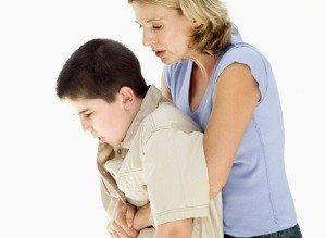 инородный предмет у ребенка в горле при кашле