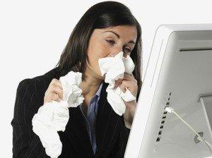температура, кашель, насморк