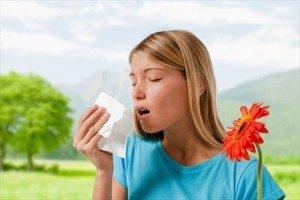 проявление аллергии и кашля