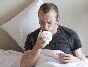 сидячее положение после кашель во время сна