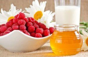 Малина и мед